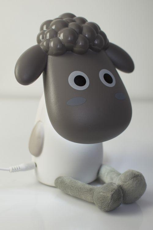 Φωτιστικό usb προβατάκι - Γκρι