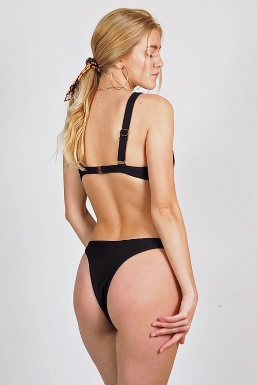 Σετ μαγιό brazil Britney - Μαύρο