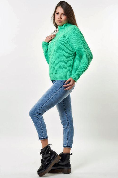 NEON EMILY SWEATER - Πράσινο