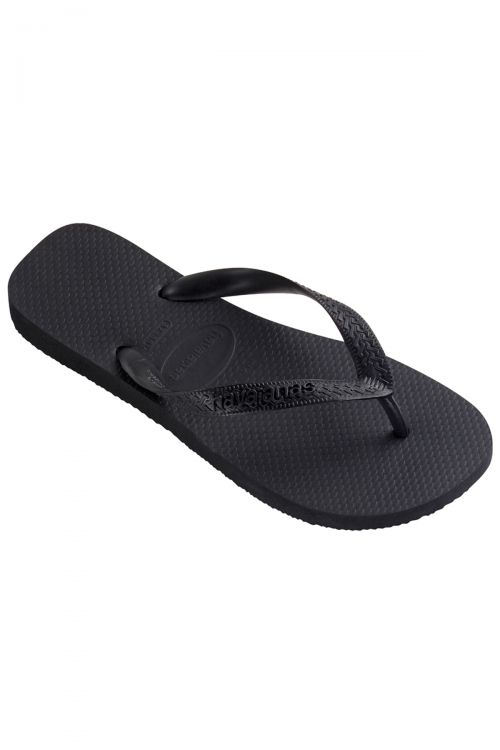 HAVAIANAS SANDALS KIDS TOP - Μαύρο