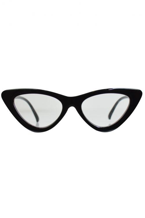 Γυαλιά ηλίου Retro Chic - Transparent