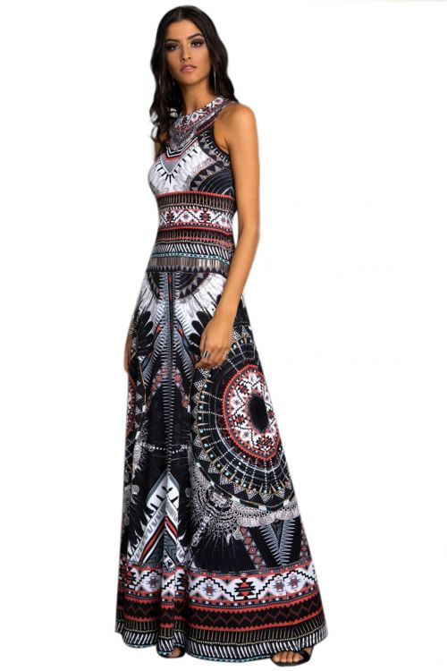 PEACE AND CHAOS CAIRO DRESS
