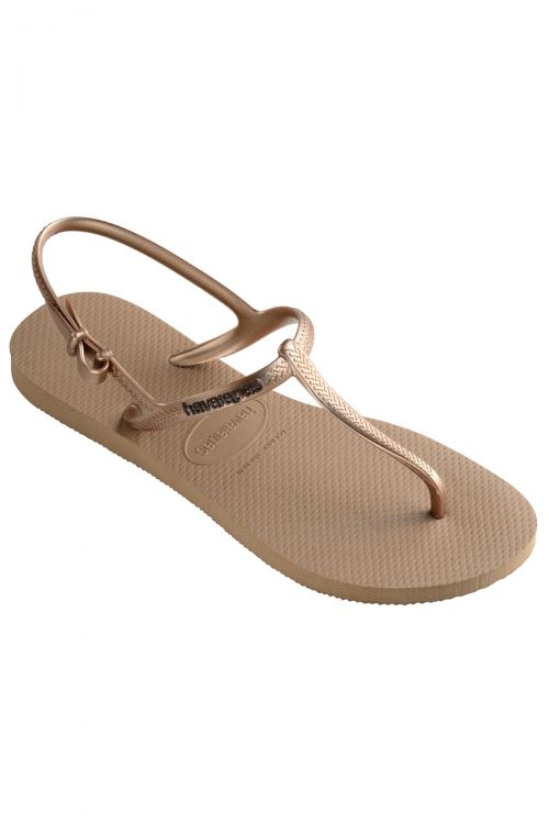 HAVAIANAS SANDALS FREEDOM - Rose Gold
