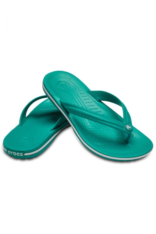 CROCS CROCBAND FLIP - Tropical Teal/White