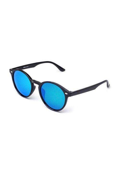 Γυαλιά ηλίου Polarized P2535 - Μάυρος Σκελετός-Μπλε Φακός/Καθρέφτης