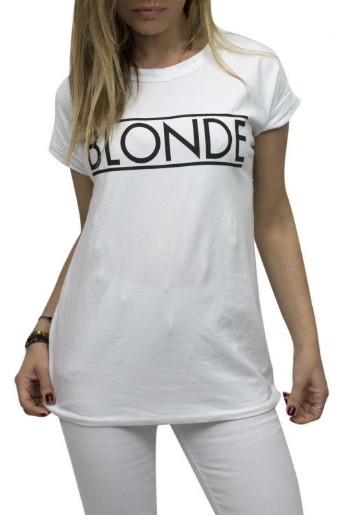 T-SHIRT FOR BLONDE