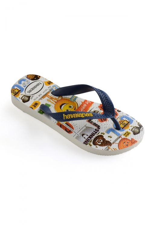 HAVAIANAS SANDALS KIDS EMOJI MOVIE - White