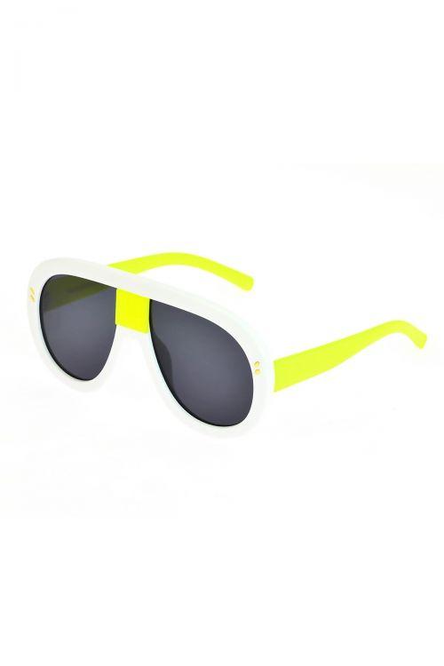 Γυαλιά ηλίου handmade - Λευκό