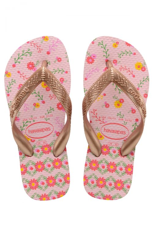 Havaianas Kids Flores - Ροζ
