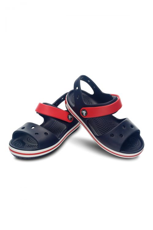 CROCS CROCBAND SANDAL KIDS - Navy/Red