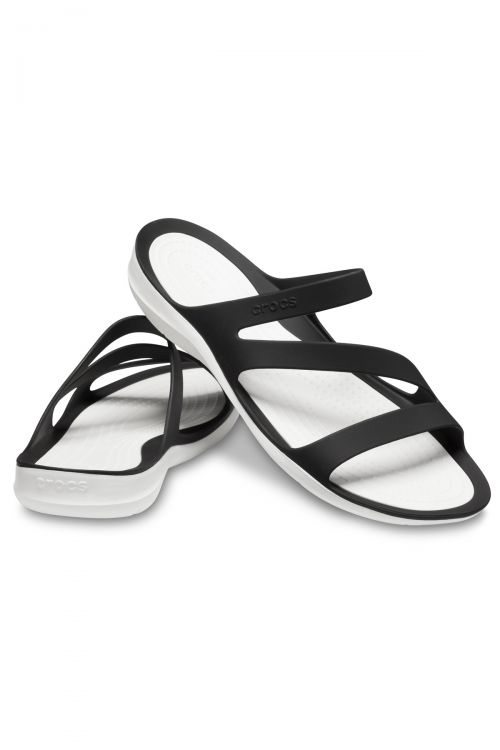 CROCS SWIFTWATER SANDAL W - Μαύρο