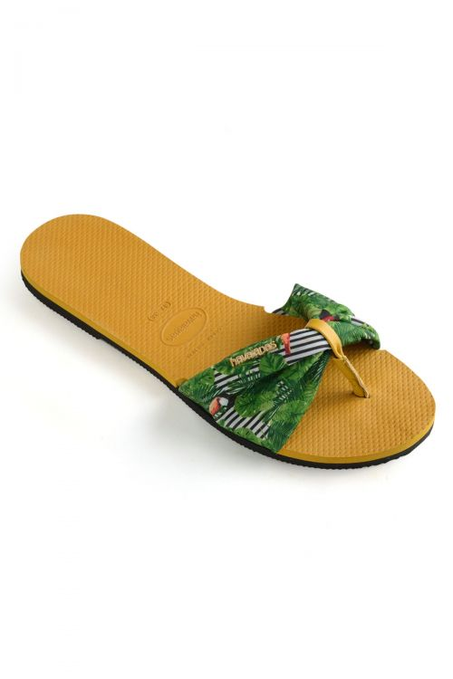 HAVAIANAS SANDALS YOU SAINT TROPEZ - Burned Yellow