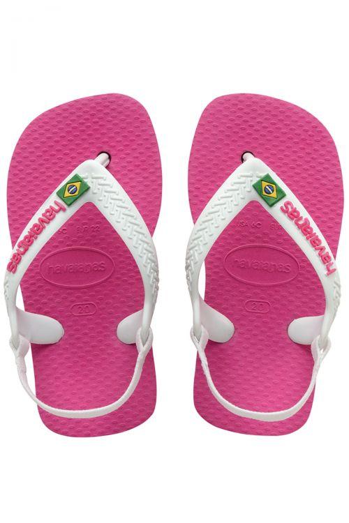 Havaianas Baby Brasil Logo II - Hollywood Rose