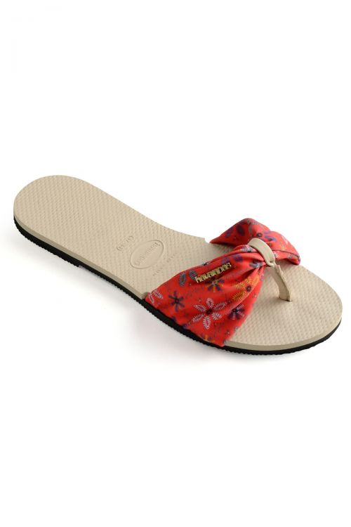 HAVAIANAS SANDALS YOU SAINT TROPEZ - Beige