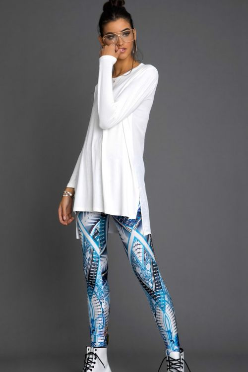 PEACE AND CHAOS PORCELAIN LEGGINGS