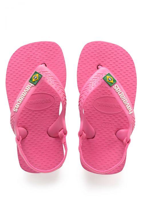 Havaianas Baby Brasil Logo II - Pink