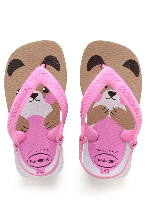 HAVAIANAS SANDALS BABY PETS II - Rose Gold