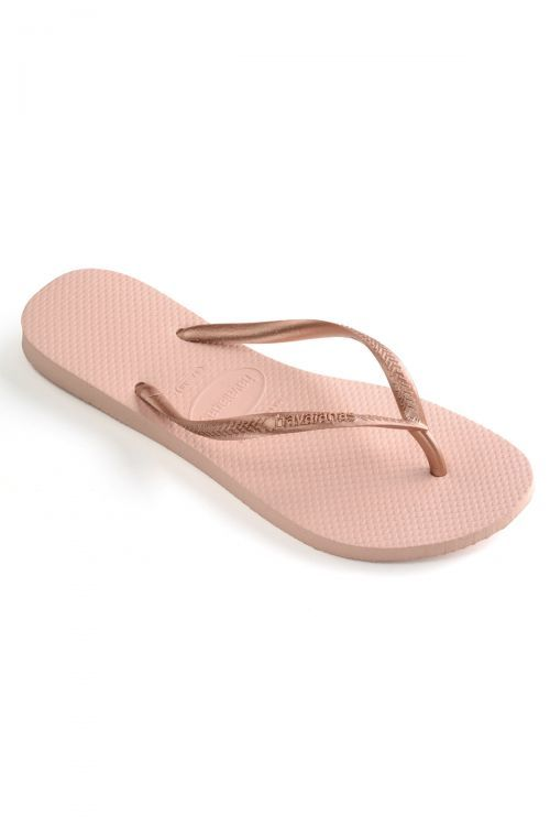 HAVAIANAS SANDALS KIDS SLIM - Ballet Rose