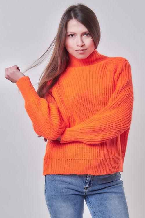 NEON EMILY SWEATER - Πορτοκαλί