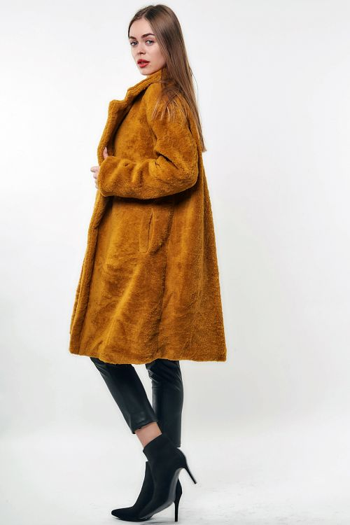 JASMINE LONG FAUX FUR
