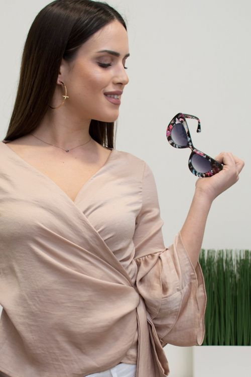 Γυαλιά ηλίου handmade - Φλοράλ