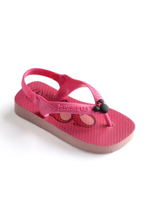 HAVAIANAS SANDALS BABY DISNEY CLASSIC - Pearl Pink
