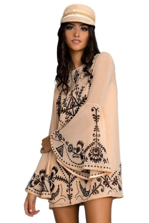 PEACE AND CHAOS MYTH AND TALES BELL DRESS