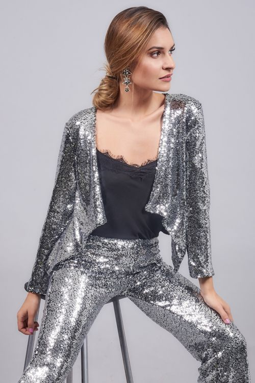 SPANGLE SPARKLING JACKET