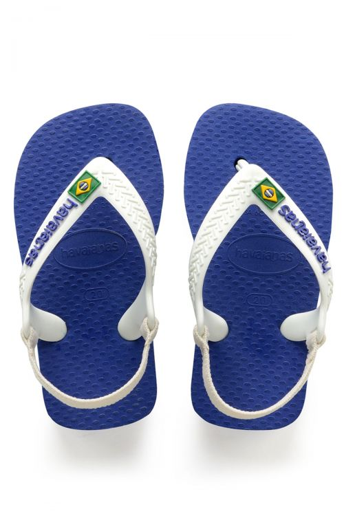 Havaianas Baby Brasil Logo II - Marine Blue