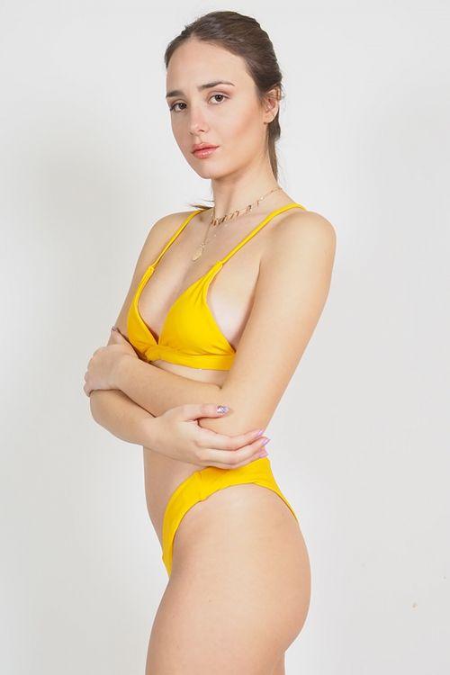 Σετ μαγιό brazil Venus - Κίτρινο