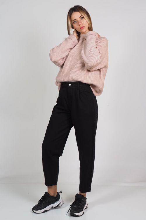 Παντελόνι premium Slouchy - Μαύρο