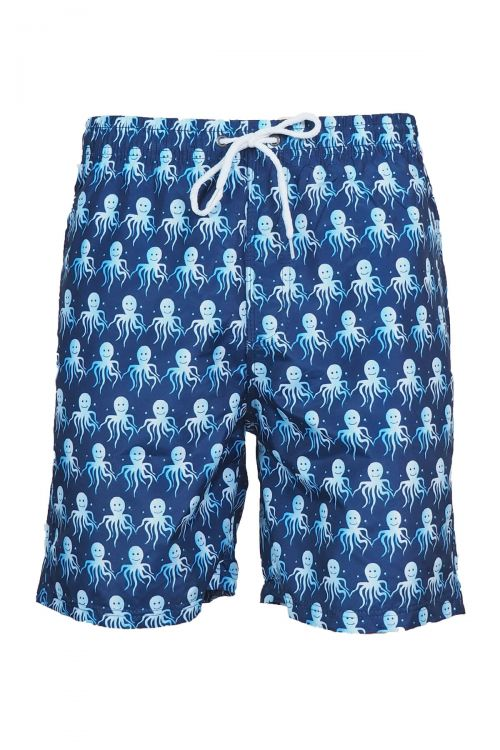 Ανδρικό μαγιό Mr Octopus - Μπλε