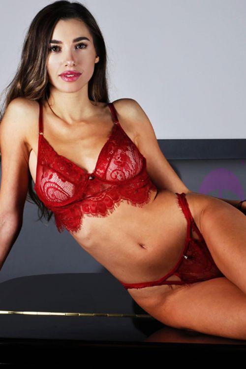 Σετ εσώρουχο lace desire - Μπορντό