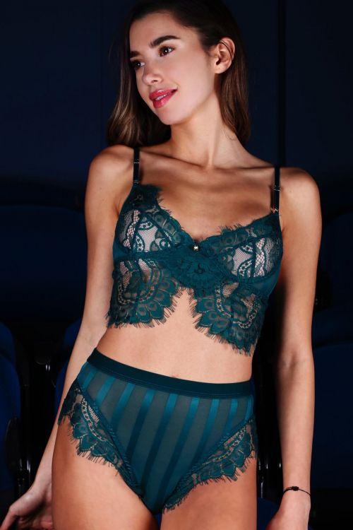 Σετ εσώρουχο lace fantasy - Πράσινο