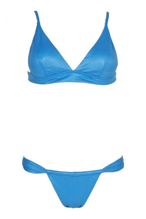 Σετ μαγιό brasil Kiara  - Γαλάζιο