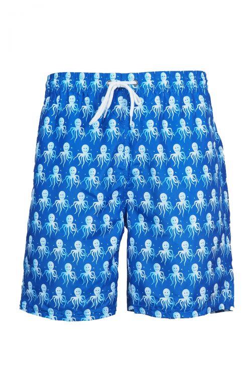 Ανδρικό μαγιό Mr Octopus - Marine Blue