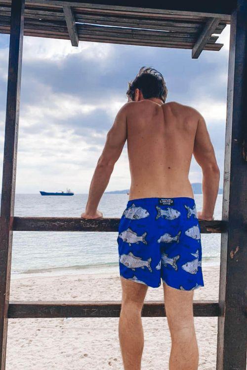 Ανδρικό μαγιό Sea life - Marine Blue