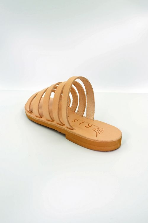 Leather Sandals Eriphili - Natural