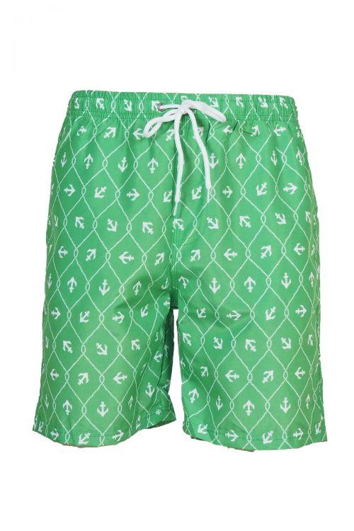 Ανδρικό μαγιό Anchor stuff - Πράσινο