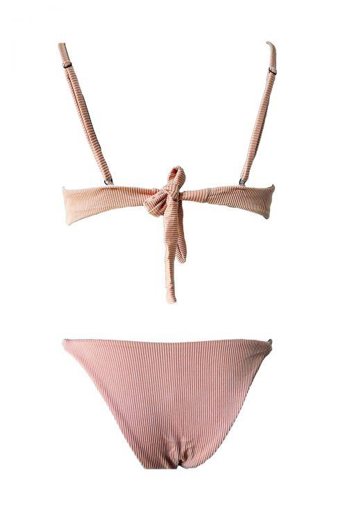 Σετ μαγιό τρίγωνο τύπου Rip Zenia - Ροζ