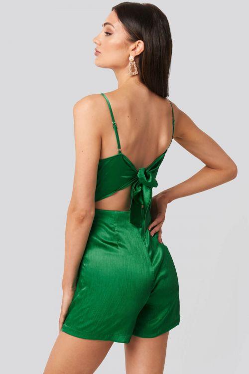 Lydia playsuit - Πράσινο